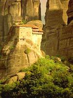 Монастыри Метеоры в Греции - древнее чудо света. Виртуальное путешествие